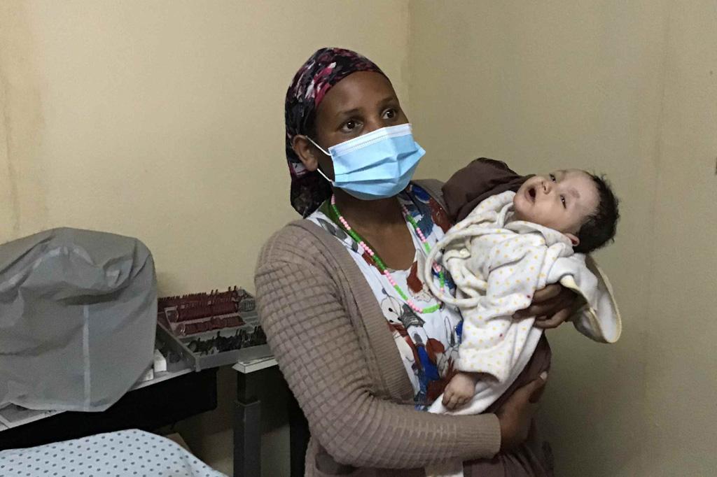 2020 Äthiopien - Gespräch mit dem Arzt