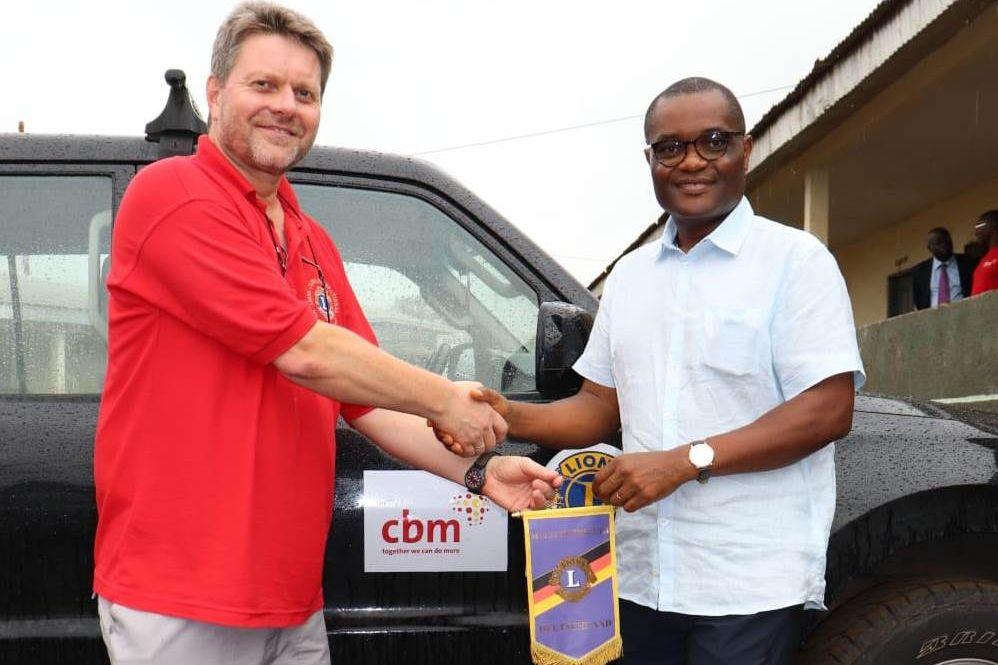 2018 Kamerun - Herr Weyel & Dr. Ngounou Wimpel