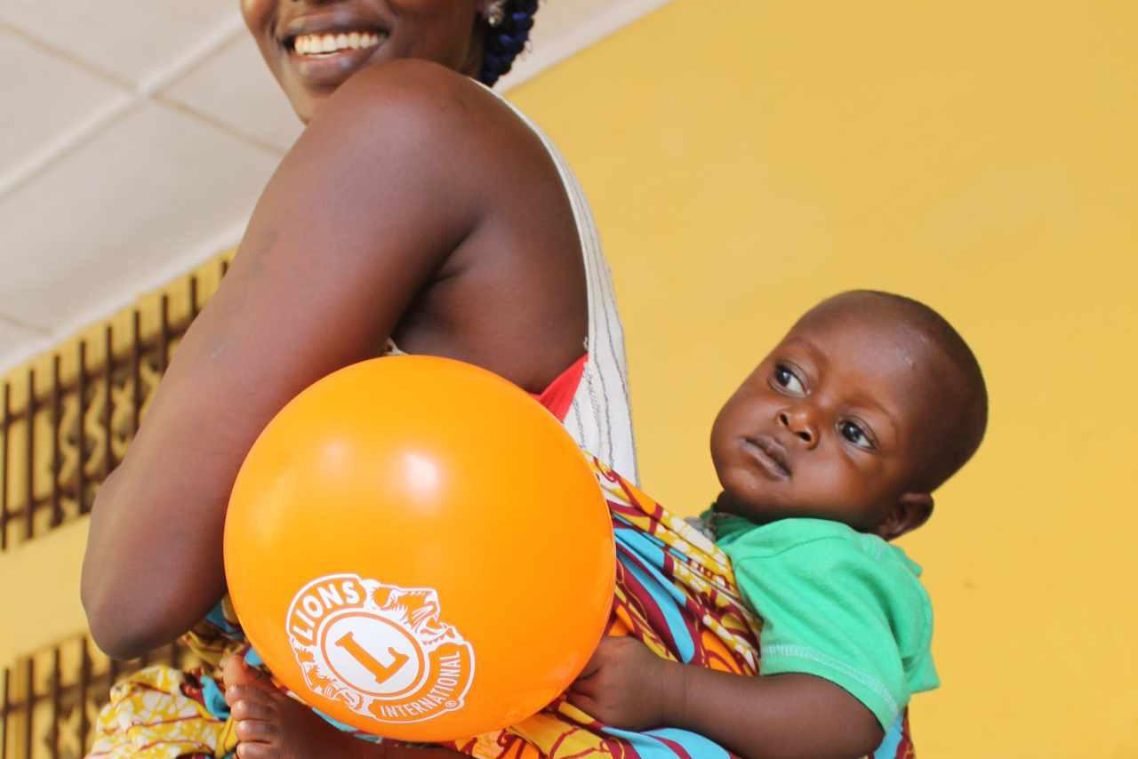 2017 Sierra Leone - Mutter mit Kind