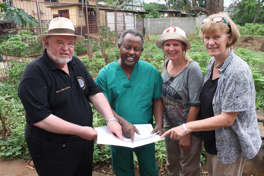 2017 Sierra Leone - Bauplan