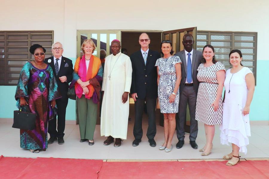 2016 Benin - Eröffnung