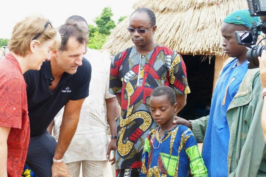 2016 Benin - Kinderarzt Patient