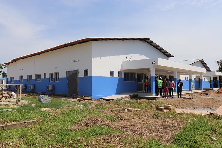 2018 Elfenbeinküste - Klinikbau 1