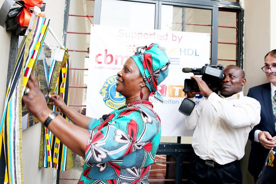 2017 Sambia - First Lady of Sambia