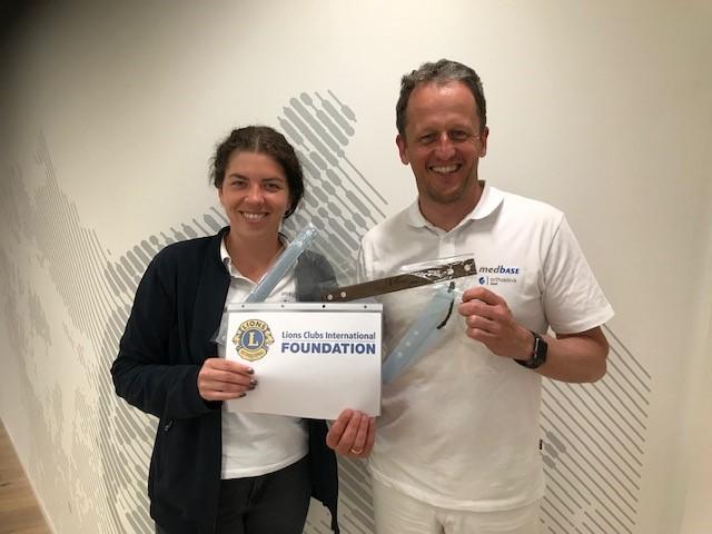 2020 Corona in Deutschland - Masken an den Chefarzt der Radiologie des Ortenau Klinikums