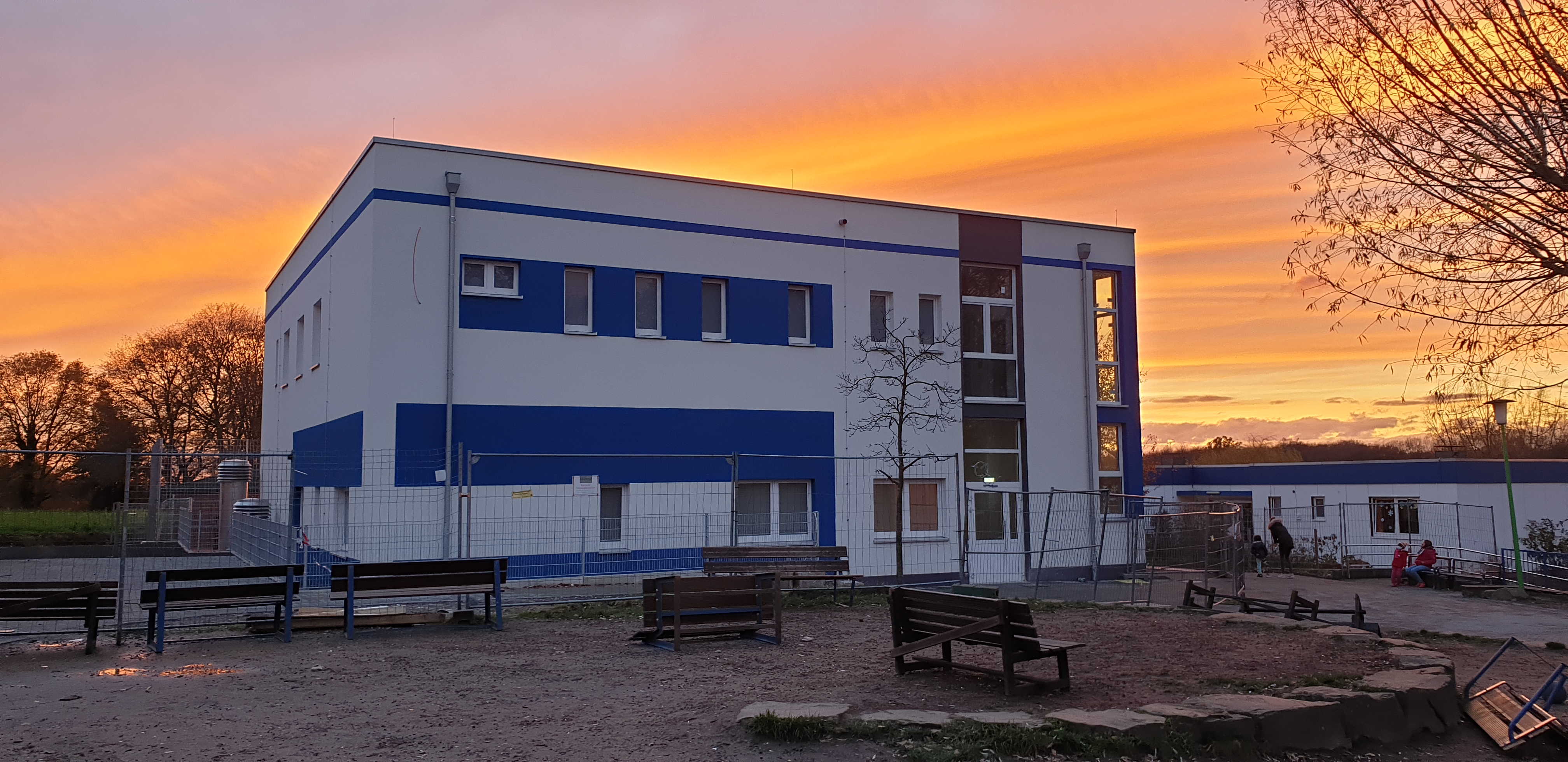 Gebäude Neubau Reha-Zentrum