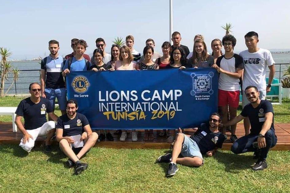 2019 Tunesien - Lions Camp International