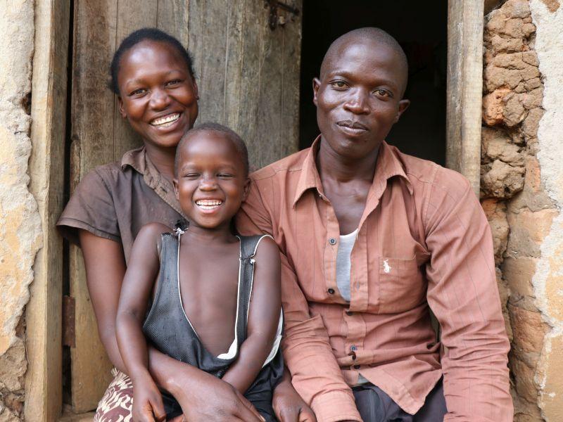 2021 Uganda - Florence und ihre Familie